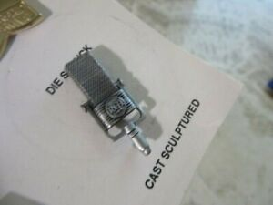 Pin-Line Wehr vintage salesman sample card.  + RCA Mic pin advertising