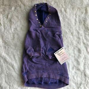 NWT Large Dog Cotton Sweatshirt Hoodie - Large 16 - 32 lbs