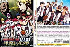 ANIME DVD~Kuroko No Basket The Movie~Last Game~Eng sub FREE SHIPPING+FREE GIFT