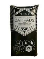 """New listing Peritas Activated Carbon Cat Pads for Breeze Tidy Cat Litter System 16.9""""x11.4"""""""