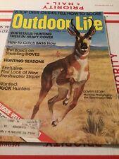 Outdoor Life HUNTING & FISHING MAGAZINE HUNTING PRONGHORNS SEPTEMBER 1975