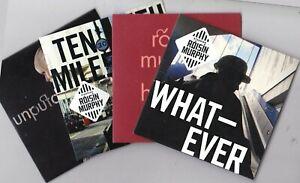 ROISIN MURPHY 4 PROMO CD'S [HAIRLESS TOYS /UNPUTDOWNABLE/WHATEVER/TEN MILES HIGH