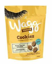 Wagg Peanut Butter and Banana Cookie Treats, 125 g, Pack of 7