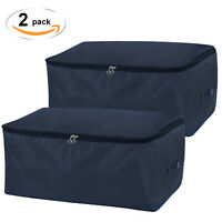 Lifewit Under Bed Storage Bag Thick Oxford Fabric Clothes Comforters Bedding Bag