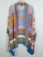 [ AUTOGRAPH ] Womens Print Kimono Jacket / Cover up  | Size AU 20 or US 16