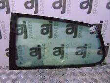 VOLKSWAGEN FOX 1.2 2008 PASSENGER SIDE REAR WINDOW QUARTER GLASS
