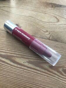 Clinique chubby stick moisturizing lip colour balm 07 Super Strawberry 1.2g new