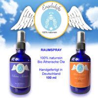 Engel Aroma Raumspray Duftspray Aromatherapie - 100% naturrein Bio 100ml Glasfl.