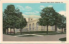 Centennial High School in Ridgway PA Postcard