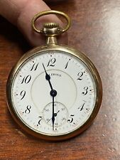 Jewels Rare Bargain Priced Working Antique Pocket Watch Illinois 17