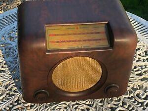 Vintage Valve /  DAC90A  Tube BUSH Radio Untested/Restoration Spare or Repair