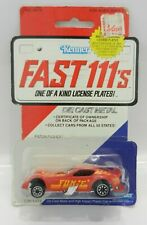 VINTAGE Kenner FAST 111's *RED* PISTON PUSHER #92170 *IN PACKAGE*