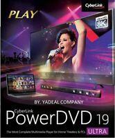 CyberLink PowerDVD Ultra 19 /32&64 bit /  Lifetime / Multi-language / (Instant D