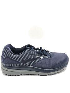 Brooks Men's Addiction Walker Suede, Blue Walking Shoes, Size 10M.