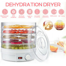 5-Trays Food Dehydrator Fruit Vegetable Meat Dryer Home Kitchen Drying