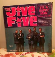 SEALED ~ THE JIVE FIVE I'M A HAPPY MAN RARE 1965 MONO UAL3455 DOO-WOP R&B SOUL