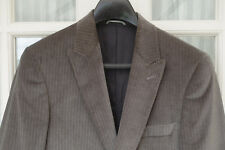 NEW Laffitte Men's Jacket Grey Charcoal Velvet UK 38 EU 48 Cotton