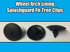 20x Fir Clips For Renault Clio Scenic Megane Splashguard Wheel Arch Liner Black