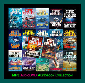 The NUMA FILES Series By Clive Cussler  (17 MP3 Audiobook Collection)
