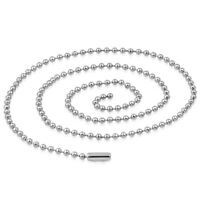 Surgical Steel Ball Link Chain 2mm Hypoallergenic