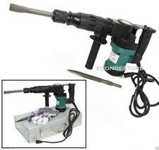 "3000BPM 1-1/2"" Electric Demolition Jack Hammer Concrete Breaker W/Chisels Bits"
