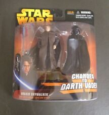 Anakin Skywalker STAR WARS Revenge of the Sith Changes to Darth Vader DELUXE