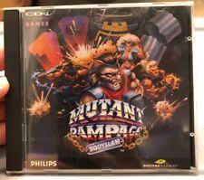 Mutant Rampage Bodyslam Philips CD-i CDI Magnavox No Sleeve