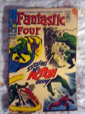 1 COLLECTABLE MARVEL 1968 SILVER AGE FANTASTIC FOUR # 71 VOL.1 COMPLETE COMIC