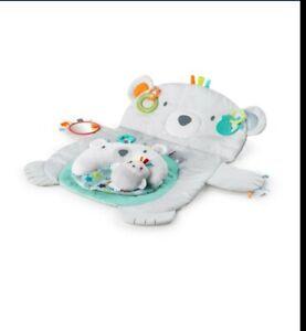 Bright Starts Tummy Time Prop & Play- Polar Bear