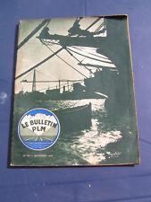 bulletin PLM 1936 48 LOUHANS AUTORAIL BUGATTI DARCEY SAINT VéRAN BUISSIèRES TASS