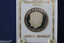 John F. Kennedy Silver Commemorative Medal Sterling Silver DCAM Proof E3569
