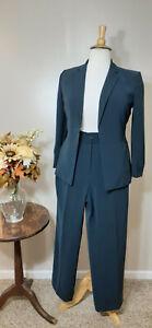 LE SUIT PETITE Navy 2-Piece Business/Career Pant Suit-Size 12P