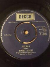"""MORRIS ALBERT 7"""" - FEELINGS / COME TO MY LIFE (VEN A MI VIDA) - DECCA F13591"""
