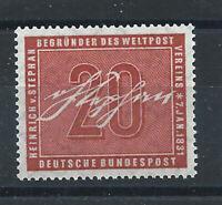 """Allemagne - RFA N°104** (MNH) 1956 - Heinrich Von Stephan """"U.P.U."""""""