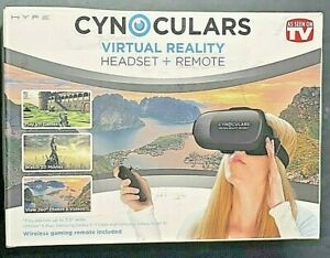 Hype Cynoculars Virtual Reality Headset and Remote - As Seen on TV
