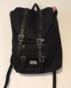 Large Black Herschel Little America Backpack