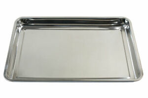 Stainless Steel Drip Tray  FOR Engine Oil AND Drips Leaks 600mm x 400mm x 48mm