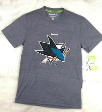 San Jose Sharks NHL Reebok Speedwick Men's Limited Edition T-Shirt S 2XL