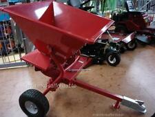 STEEL FERTILISER SEED SPREADER Grass Ride On Mower NEW 12 MONTHS WARRANTY