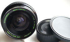Quantaray Wide-Angle 24mm f2.8 for Pentax K & mirrorless cameras Japan Good