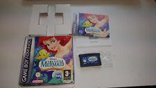 Nintendo Gameboy Advance Juego en caja La sirenita magia en dos reinos vecinos GBA