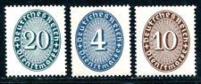 DR DIENST 1927 119,130-131 ** POSTFRISCH 150€(K7232