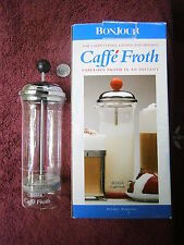 Cappacino Latte Froth Mixer for Cappacinos Lattes and Mochas