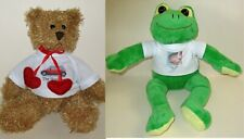 Personalised Soft Teddy Bear/Frog Soft Toy