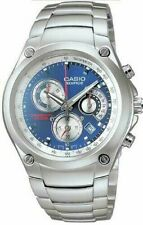 Casio EF507D-2A Men's Edifice Stainless Steel Chronograph Watch 100M WR NEW
