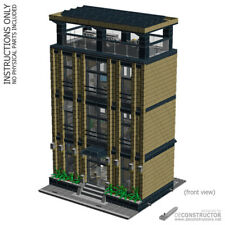 LEGO Corporate Headquarters - custom modular building (MOC) - INSTRUCTIONS ONLY