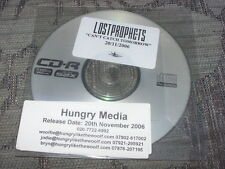 Lostprophets:  Can't catch tomorrow  Promo  CDr   NM