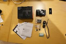 Sony Cyber-shot DSC-RX100 V RX100M5 20.1MP Digital Camera - Black