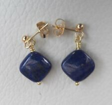 Lapis Lazuli earrings. Blue Lapis Earrings. Reiki. Chakra. Free UK P&P. Healing