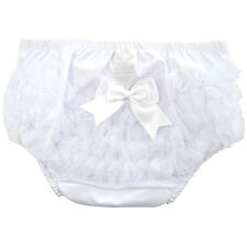 Baby Girls Frilly Pants Knickers Romany Pink Organza Satin Bow Soft Touch 6-12m
